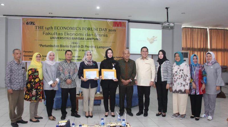 """Economics Forum Day 2019 dengan Tema """"Pertumbuhan Bisnis Syariah di Provinsi Lampung"""""""