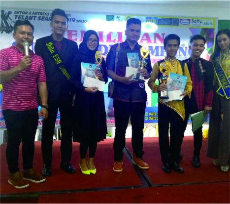 Mahasiswa Akuntansi UBL, Cut Karina, mendapat peringkat 3 di lomba solo song