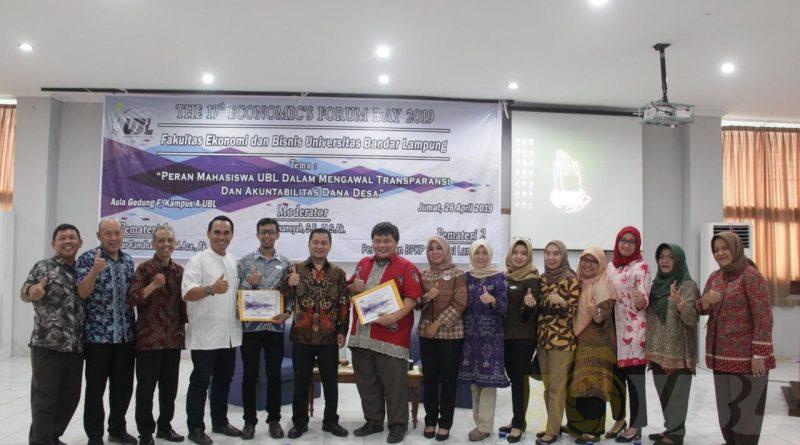 Economic Forum Day: Peran Mahasiswa UBL Dalam Mengawal Transparansi dan Akuntabilitas Dana Desa